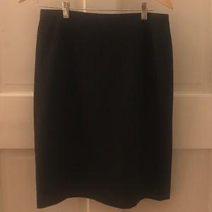 Tahari Classic Black Pencil Skirt
